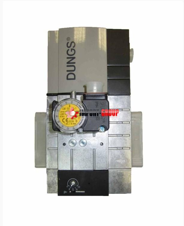 Мультиблок типа W-MF SE512 S22 230 В, с установленным реле давления газа GW50 A5/1