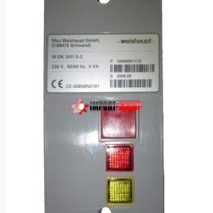 Контроль герметичности Weishaupt W-DK 3/01